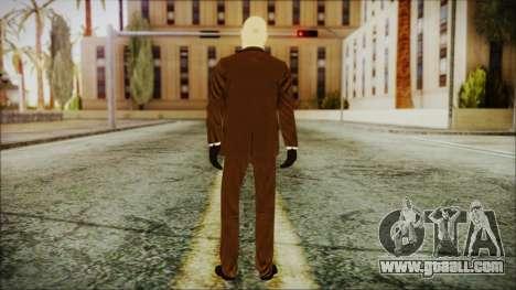 Hitman Absolution Agent 47 for GTA San Andreas third screenshot