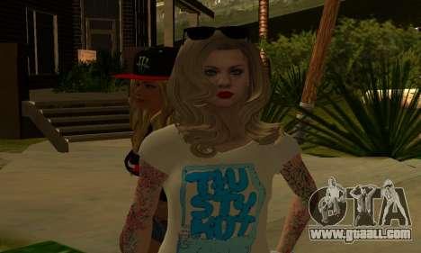 Womens Mega Pack by 7 Pack for GTA San Andreas fifth screenshot