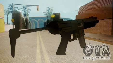 GTA 5 MP5 for GTA San Andreas second screenshot