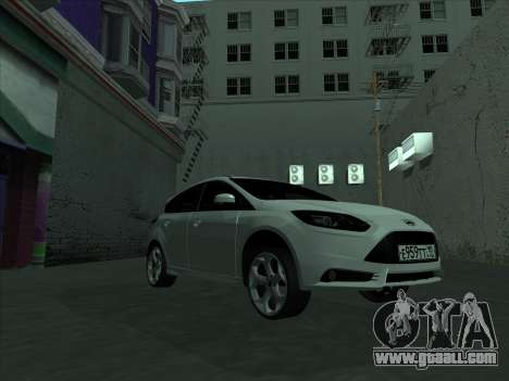 Ford Focus ST baleen for GTA San Andreas inner view