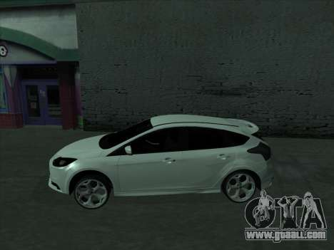 Ford Focus ST baleen for GTA San Andreas left view