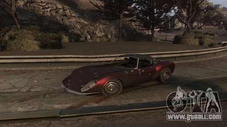 GTA V Stinger Classic for GTA 4 side view