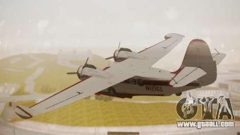 Grumman G-21 Goose N121GL for GTA San Andreas left view