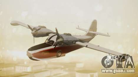 Grumman G-21 Goose NC327 Cutter Goose for GTA San Andreas