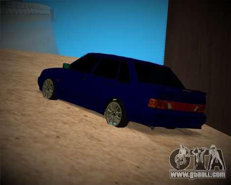VAZ-2115 for GTA San Andreas upper view
