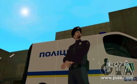 The National Police Of Ukraine for GTA San Andreas second screenshot