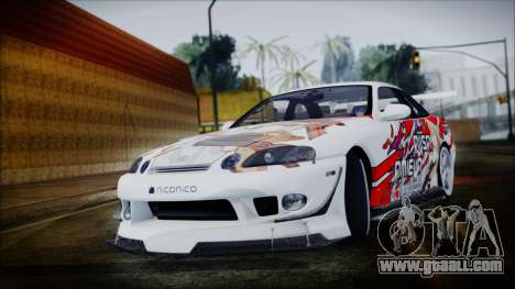 Lexus SC300 Edit for GTA San Andreas