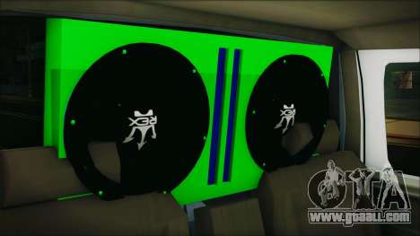 Ford F-150 Con Sonido for GTA San Andreas back view