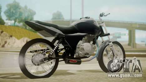 Honda Titan CG150 Stunt for GTA San Andreas left view