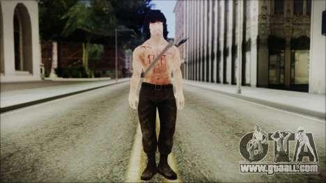Rambo Skin for GTA San Andreas second screenshot