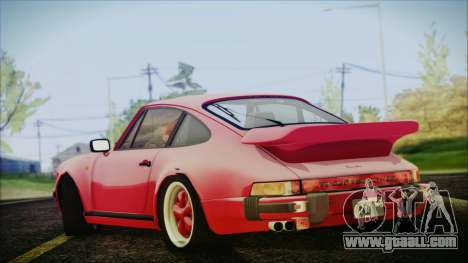 Porsche 911 Turbo 3.3 Coupe (930) 1986 for GTA San Andreas left view