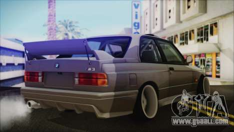 BMW M3 E30 Camber for GTA San Andreas left view
