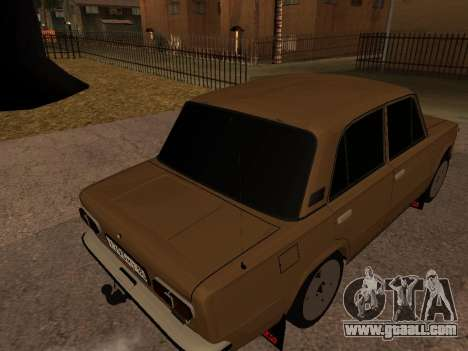 Vaz 2101 V1 for GTA San Andreas upper view