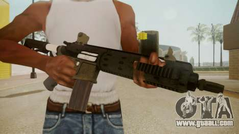 GTA 5 M4 for GTA San Andreas third screenshot