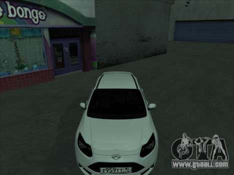 Ford Focus ST baleen for GTA San Andreas side view