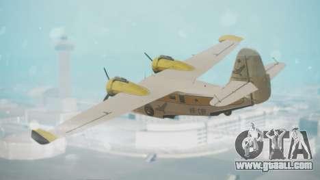 Grumman G-21 Goose WhiteYellow for GTA San Andreas left view