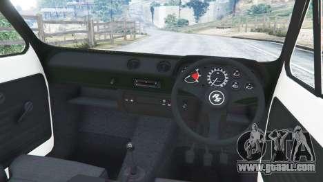 GTA 5 Ford Escort MK1 v1.1 [Carrillo] right side view