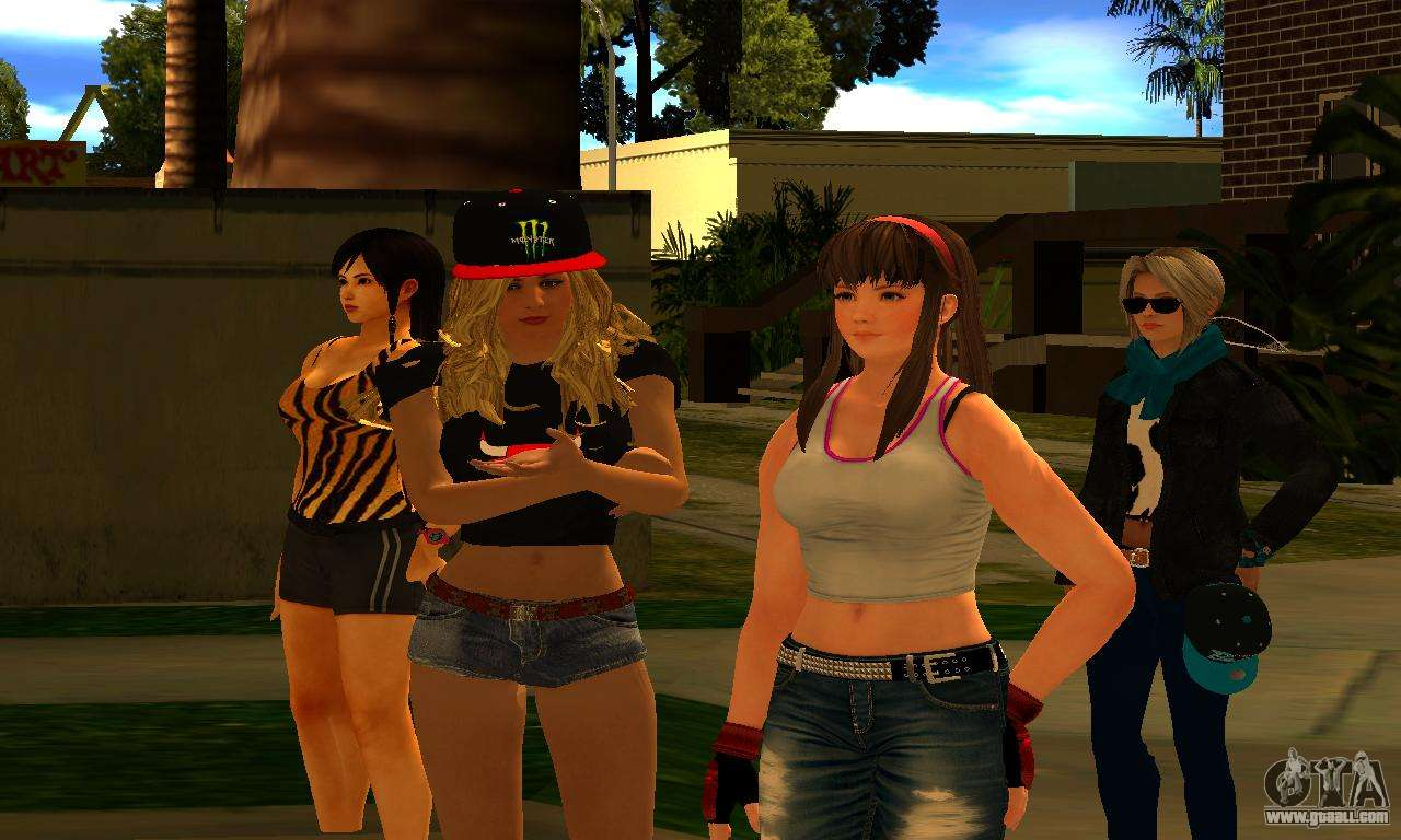 Womens Mega Pack By 7 Pack For Gta San Andreas-9348