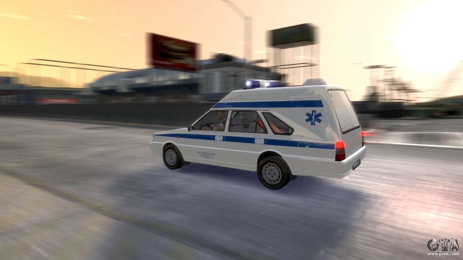 daewoo fso polonez cargo ambulance   gta