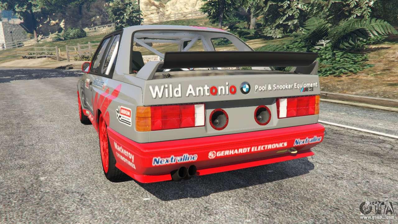 BMW M3 (E30) 1991 Wild Autonio v1.2 for GTA 5