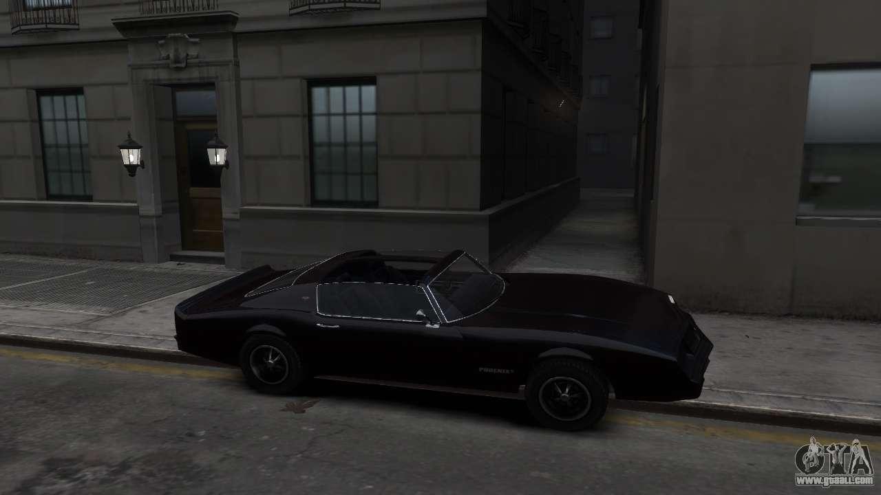 Classic Car Transport >> Classic Muscle Phoenix IV for GTA 4