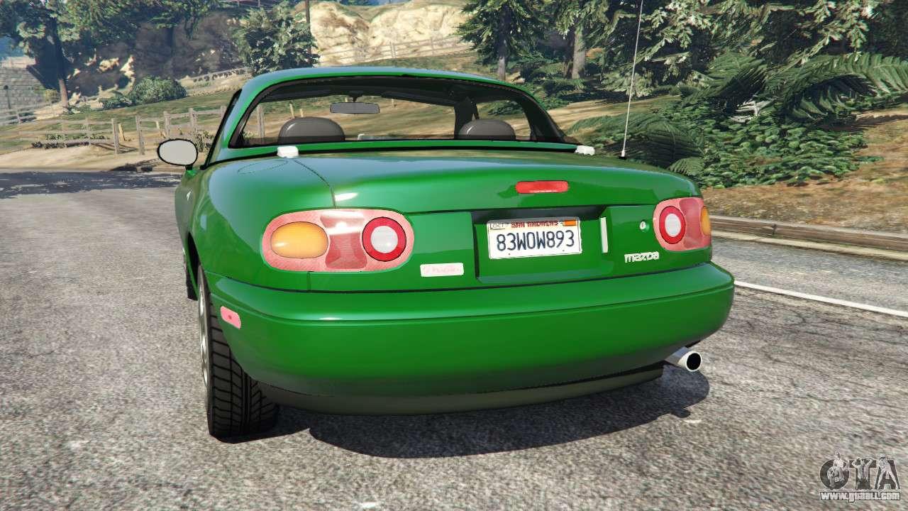 Mazda miata mx 5 for gta 5