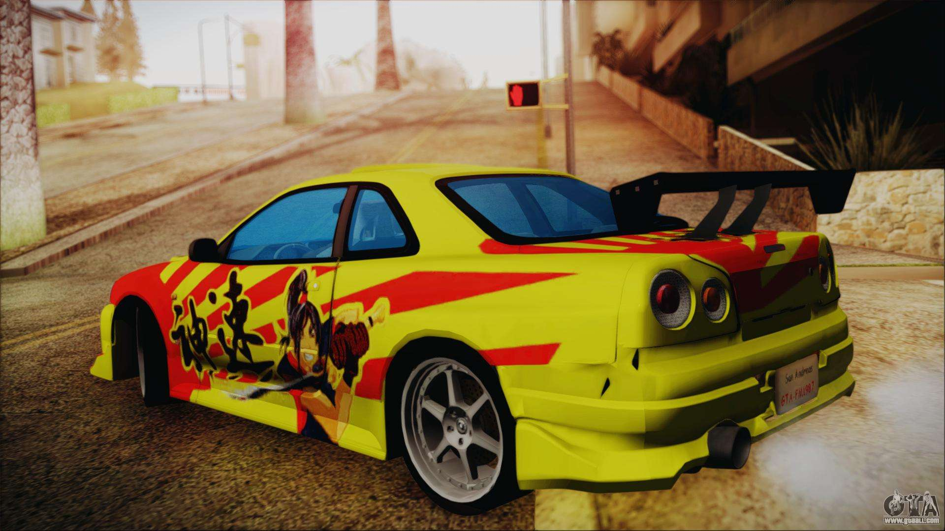 Nissan Skyline Street Racing Syndicate For Gta San Andreas