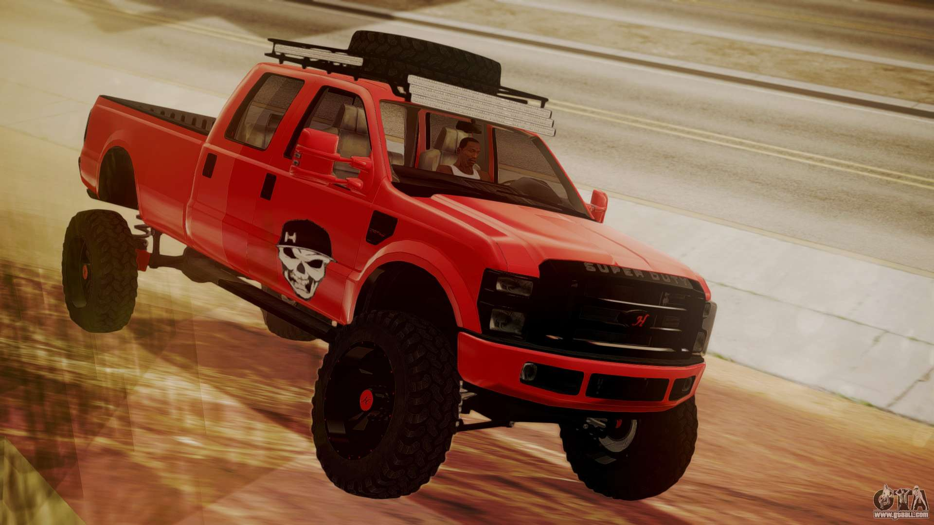 Ford F-350 2010 Lifted Sema Show for GTA San Andreas