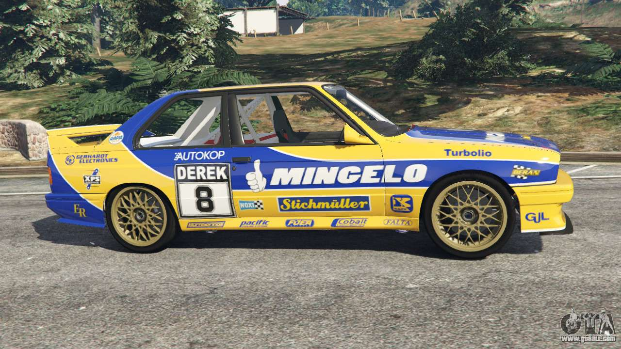 BMW M3 (E30) 1991 Mingelo v1.2 for GTA 5