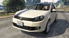 Volkswagen Golf Mk6 v2.0 [Stripes] for GTA 5