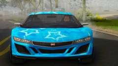 Dinka Jester (GTA V) Blue Star Edition