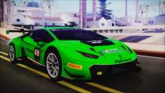 Lamborghini Huracan 610-4 GT3 2015 for GTA San Andreas