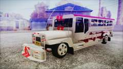 Hataw Motor Works Jeepney for GTA San Andreas