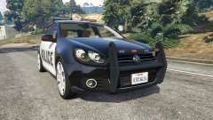 Volkswagen Golf Mk6 Police for GTA 5