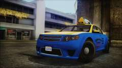 Cheval Fugitive Downtown Cab Co. Taxi for GTA San Andreas