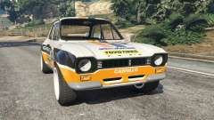 Ford Escort MK1 v1.1 [Carrillo] for GTA 5