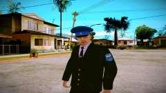 The employee of the Ministry of Justice v1 for GTA San Andreas