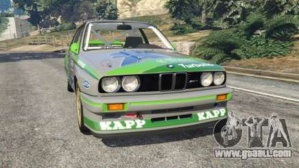 BMW M3 (E30) 1991 [Honoris] v1.2 for GTA 5