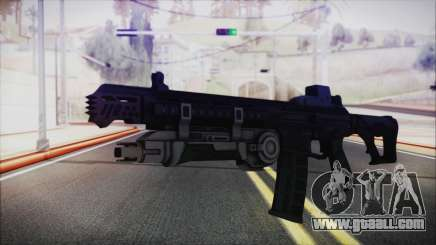 SOWSAR-17 Type G Assault Rifle with Grenade for GTA San Andreas