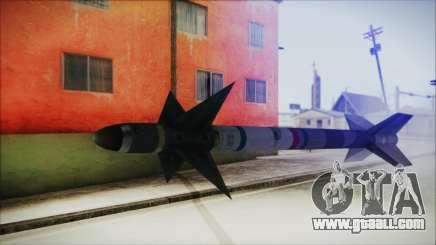 AIM9 Missile for GTA San Andreas