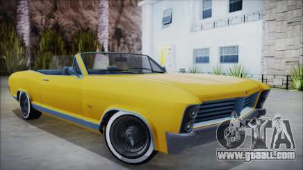 GTA 5 Albany Buccaneer Custom for GTA San Andreas