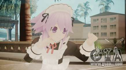 Neptune Maid [Hyperdimension Neptunia] for GTA San Andreas