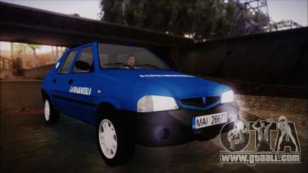 Dacia Solenza Jandarmeria for GTA San Andreas
