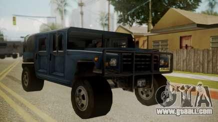 Patriot III for GTA San Andreas