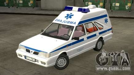 Daewoo-FSO Polonez Cargo Ambulance 1999 for GTA 4