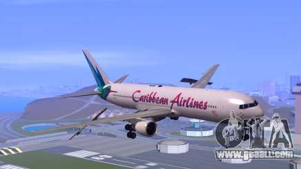 Boeing 767-300 Caribbean Airlines for GTA San Andreas