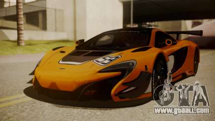 McLaren 650S GT3 2015 for GTA San Andreas
