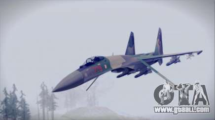 Sukhoi SU-35S East German Air Force for GTA San Andreas