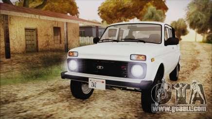 VAZ 2329 Niva 4x4 for GTA San Andreas