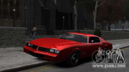 Classic Muscle Phoenix IV for GTA 4